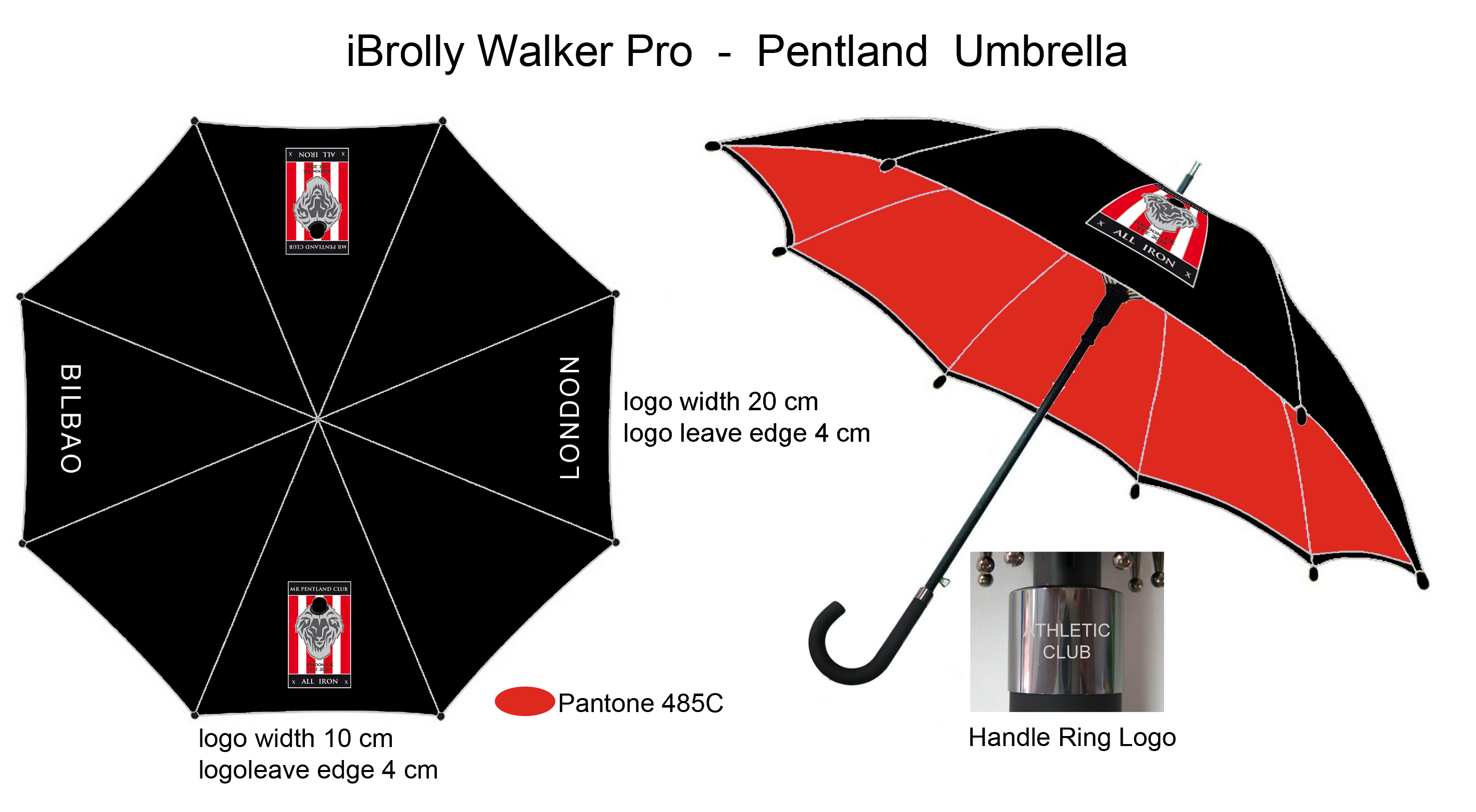 Mr Pentland Club Brollie